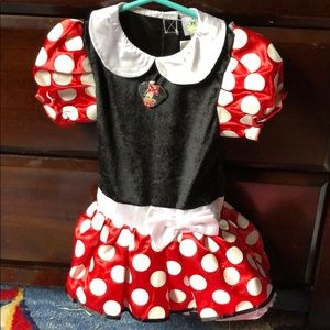 Disney Baby Minnie Mouse costume size 9-12mo